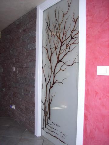 Porte scorrevoli - Vetri decorati per porte scorrevoli ...